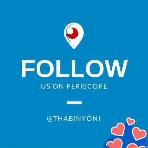 ThabiNyoni Periscope Follow Card