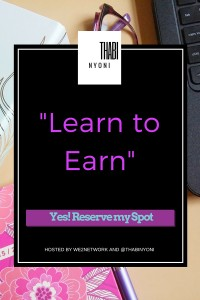 ThabiNyoni- Learn to Earn