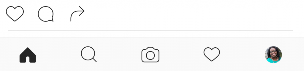 The like and comment option are missing from the IG Stories