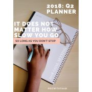 2018 Biz With Thabi Daily Planner Q2